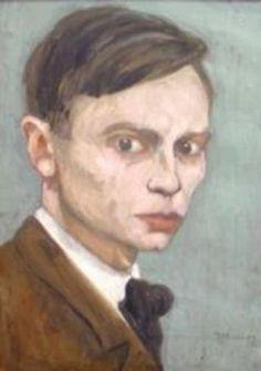zelfportret Jan Mankes