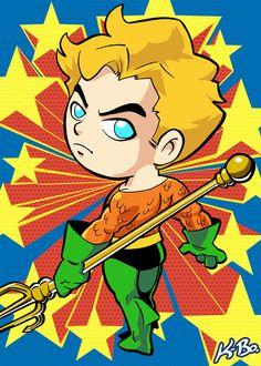 Super+Powers+Aquaman+Art+Card+by+K-Bo.+by+kevinbolk.deviantart.com+on+@deviantART