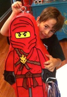 """Looky here, someone pinned my post for me. """"How to have a Ninjago party."""""""