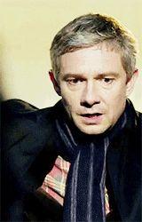 "barrel–rider: """" Sherlock / One gif per episode : John Watson "" """