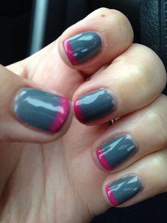 PB - Gray with hot pink- April 2014