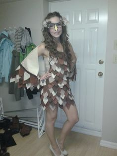 Hoot Hoot - Owl Costume: 6 Steps (with Pictures) Owl Costume Diy, Owl Halloween Costumes, Harry Potter Halloween Costumes, Halloween Owl, Funny Costumes, Adult Costumes, Costumes For Women, Costume Ideas, Halloween Ideas