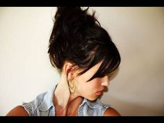 Creative Hairstyles: Easy Messy Bun