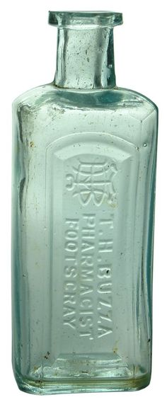 Auction 26 Preview | 700 | Buzza Pharmacist Footscray Antique Bottle