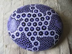 Painted pebble,pointillism,dot paintings,art,OOAK,abstract,mandalas,gifts,present,birthday,gift ideas!!