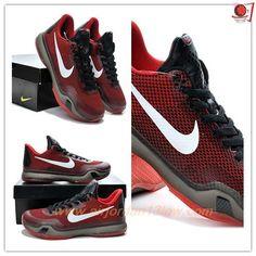 653972-615 Nike Kobe 10 Deep Garnet Red / Black Mens Outlet USA Discount Shoes Online, Cheap Shoes Online, Deep, Air Max Sneakers, Sneakers Nike, Kobe 10, Baskets, Shoes 2015, Basket Ball