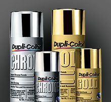Dupli-Color automotive spray paints have the best metallic finish out there. You can buy the spray paints at an auto parts store {Paint It Monday} The Creativity Exchange