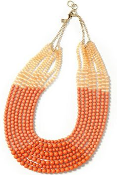 Coral Necklace for Spring