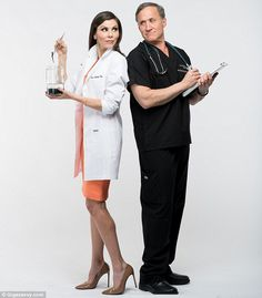 Teaming up: Heather Dubrow and husband Dr. Terry Dubrow have joined forces on a new book:Dr. & Mrs. Guinea Pig Present The Only Guide You'll Ever Need to The Best Anti-Aging Treatments