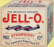 vintage jell-o packaging