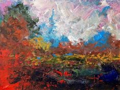 Burnt Orange Landscape Wall Art by Joseph Marshal Foster from Great BIG Canvas.