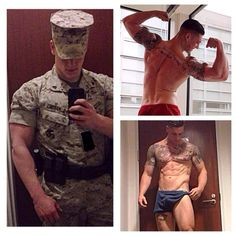Support Military Muscle shares...... Sgt Doyle US MARINE CORPS