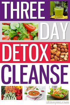 If you're embarking on a healthy eating plan, our Three Day Cleanse & Detox will get you motivated to start your new plan! #cleanse #detox #plan