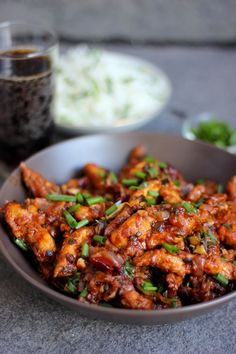 Szechuan Chicken || Will replace water with low-sodium chicken broth or stock, but looks great.