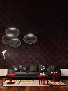Moooi celebrates and showcases A Life Extraordinary in Brera Oriental Bedroom Wallpaper, Medan, Neri And Hu, Kartell, Milan Design, New Carpet, News Design, Design Ideas, Decoration