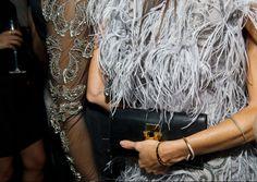 Georgina Chapman's Marchesa Dress - Fabulous feathers
