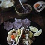 Black Bean Enchiladas With Roasted Red Pepper Cashew Cream (Gluten Free and Vegan) - Beard + Bonnet