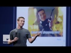 """CEO Mark Zuckerberg and his team had a slew of announcements from """"spherical videos"""" to re-launching Messenger as a platform for other apps. San Francisco, Social Media Company, Facebook Users, Video Advertising, Facebook Messenger, Digital Strategy, Signs, Tech News, Keynote"""