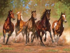 Taking Flight-Horse Painting by Cummings - Original oil painting by Chris Cummings Pretty Horses, Horse Love, Beautiful Horses, Horse Galloping, Horse Artwork, Running Horses, Horse Drawings, White Horses, Equine Art