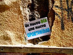 Un nuevo día, una nueva oportunidad #EscribiendoUnAbrazo #abrazoescrito #abrazo #Mataró