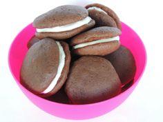 Kakaové koláčiky Whoopie Pies