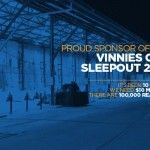 Create Engage supports Vinnies CEO Sleepout 2015