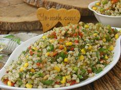 Buğday Salatası Resimli Tarifi - Yemek Tarifleri
