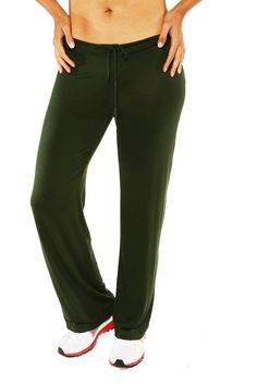 Look sporty and fashionable while still in comfort with these stylish pants made of stretchy material with a straight leg design. Perfect for exercising or just lounging around the house on a slow day. A drawstring waist allows for easy every day wear creating an ideal day-to-night look.   Draw-String Straight-Leg Pant by 24/7 Comfort Apparel. Clothing - Bottoms - Pants & Leggings California