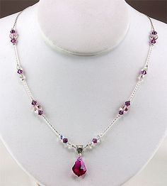 crystal necklace patterns - Google Search
