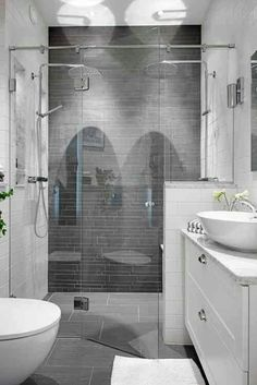 Medio murete en la ducha