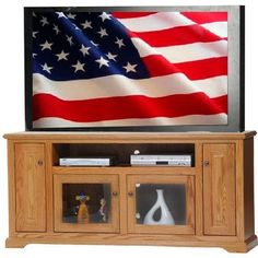 AmericanHeartland Deluxe TV Stand Finish: Havana Gold