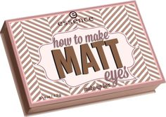 how to make matt eyes make-up box 03 - essence cosmetics