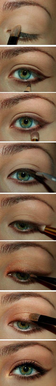 That eyeliner