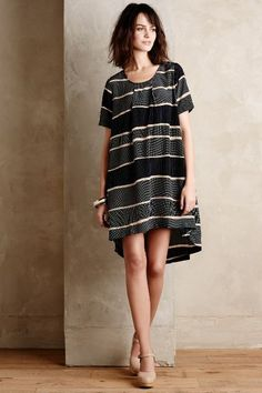 Fen Striped Shift - anthropologie.com