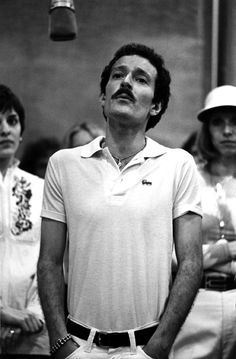 Sammy Williams in a recording session for A Chorus Line – Original Broadway Cast 1975 | The Official Masterworks Broadway Site