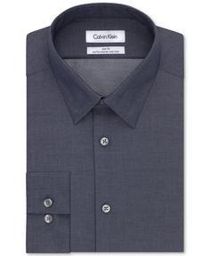 Style Bob Point Collar Luxe Microfiber Mens Regular Fit Solid Dress Shirt