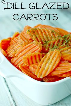 Dill Glazed Carrots
