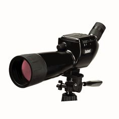 Bushnell - 15-45x 70mm Spotting Scope | Digital imaging spotting scope with 5 megapixel image capture and video with flip-up color LCD screen.