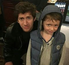 This picture is so cute ❤ Alex and a tiny fan in Sheffield