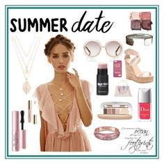 """""""sweet summer date"""" by careyjohnson-cj ❤ liked on Polyvore featuring FOOTPRINTS, Forever 21, Too Faced Cosmetics, Christian Dior, Chloé, Jane Iredale, The Bradford Exchange, Tom Ford, Giuseppe Zanotti and Ted Baker"""