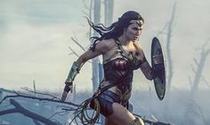 Gal Gadot in Wonder Woman … 'Having thighs that you can kick things with is a feminist act.'