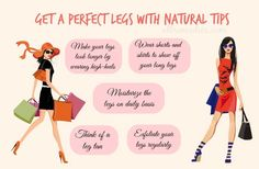 Get A Perfect Legs With Natural Tips
