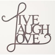 Andover Mills Live, Laugh, Loveu0027 Antique Copper Wall Decor Finish: Antique  Copper