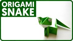 Origami Snake (Gen Hagiwara)