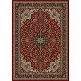 Found it at Wayfair - Persian Classics Oriental Medallion Red Area Rug