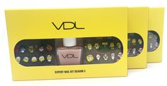 VDL Expert Nail Kit Kakao Friends Season2 Cute Nail 2ea Sticker Topcoat 9 8ml | eBay