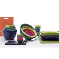 5-Piece Parker Bowl Set, 3-Piece Potluck Baker Set, Mini Parker Bowl, Melamine Bowls, Reversible Jelli Boards