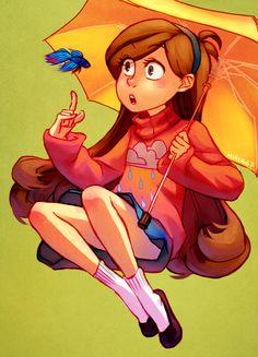 miru667: It was my friend iCat's birthday yesterday so I drew her a Mabel!