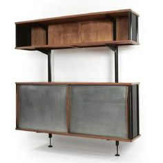 Wall-mounted Storage Unit by Jean Prouvé | Blouin Art Sales Index