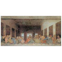 DA VINCI - THE LAST SUPPER - TODAY 140x70 cm / 100x50 cm #artprints #interior #design #DaVinci #Leonardo Scopri Descrizione e Prezzo http://www.artopweb.com/autori/leonardo-da-vinci/EC15125